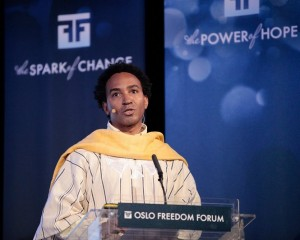 Photo credit: Oslo Freedom Forum